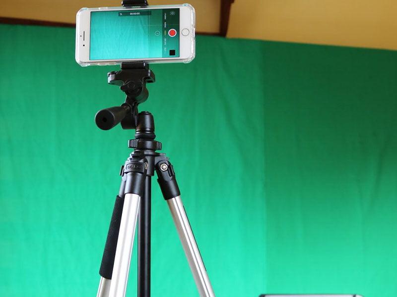 نحوهی ادیت کروماکی در موبایل با استفاده از iMovie