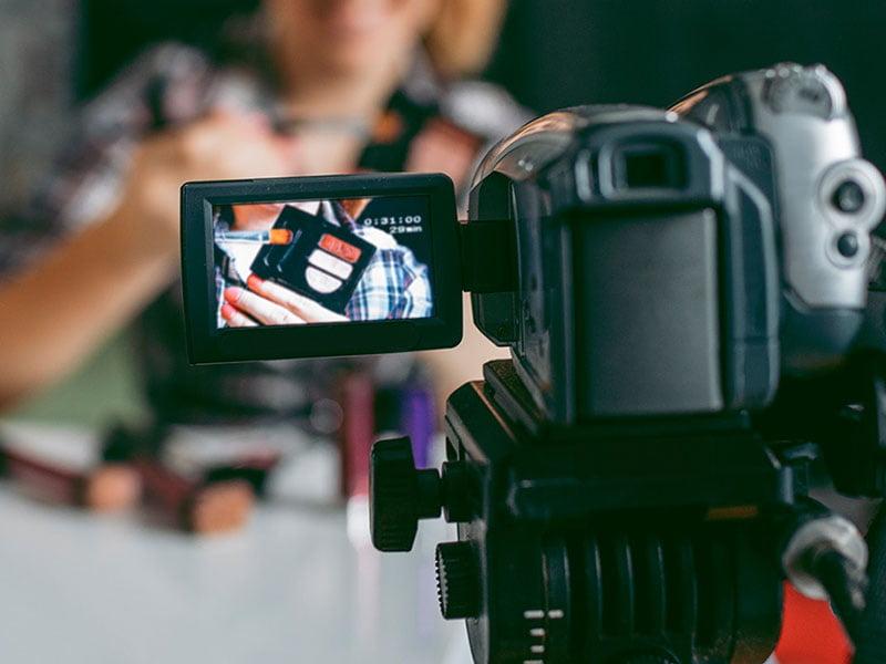 تجهیزات تولید محتوای ویدیویی