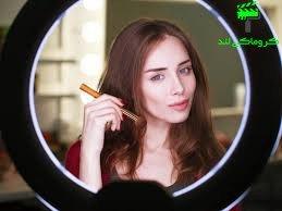 استفاده رینگ لایت در صنعت آرایشی و زیبایی