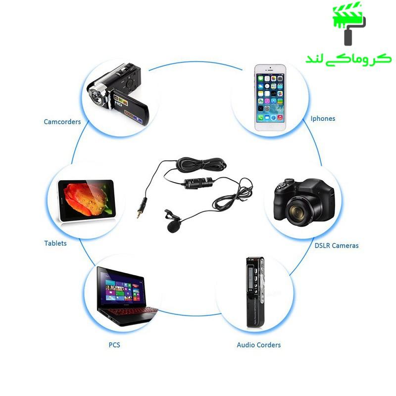 میکروفون بویا مدل BY - M1 سازگاری با دستگاه های مختلف