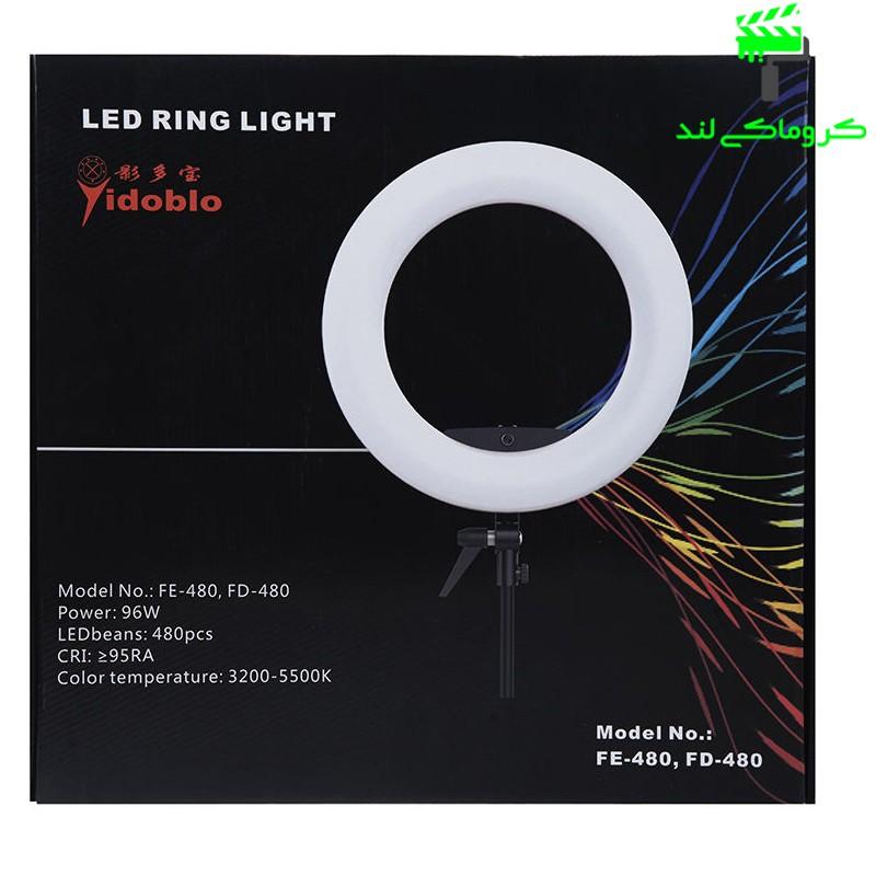 انواع رنگ ها در رینگ لایت مدل  FE-480 II