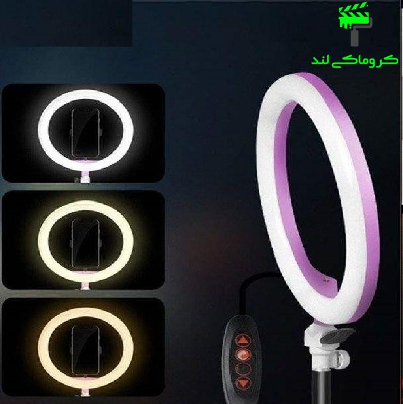 تنظیم روشنایی رینگ لایت مدل ZD-666