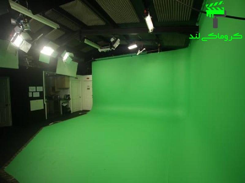 استودیوی کروماکی خالی