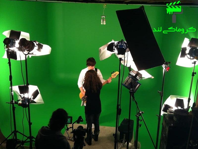 ضبط فیلم در استودیوی فون کروماکی