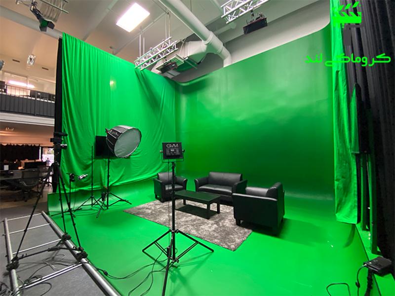 فیلم برداری در استودیو کروماکی