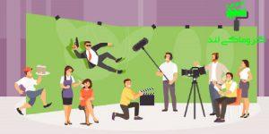 فیلمبرداری با پرده سبز